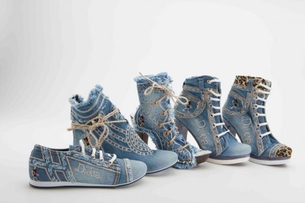 newest 88c80 dc793 Zubehör zu Jeans Stiefelette Stella Tiger original by DiJea